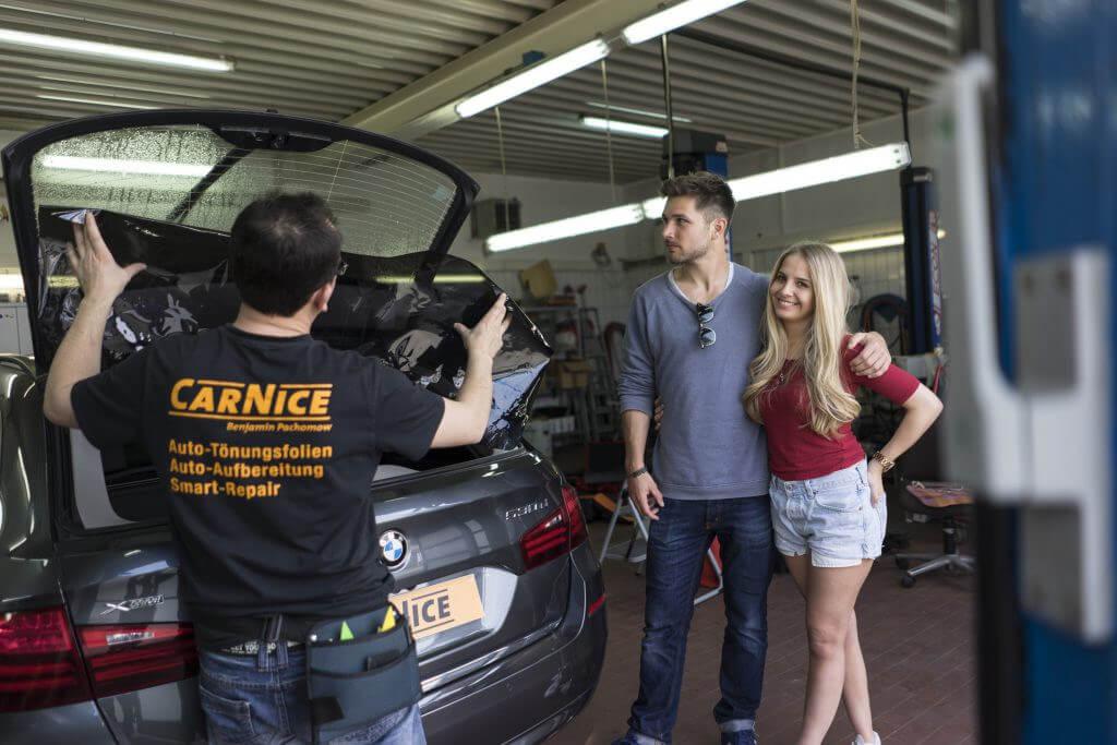 Scheibentönung bei Car-Nice glückliche Kunden